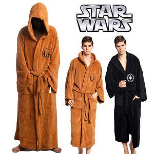 905eb54cfc Star Wars Jedi Master Costume Bathrobe Cosplay Robe Lounge Men Wear ...