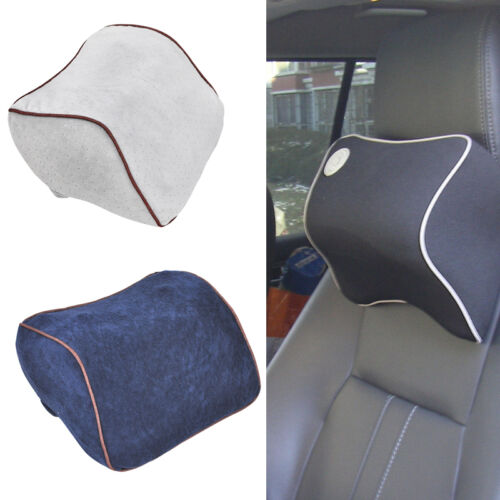 Microfiber Pad Memory Foam Travel neck Pillow Head Neck Rest Support Cushion