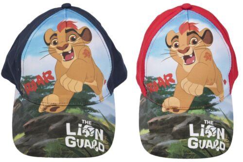 Boys Disney Lion Guard Baseball Cap Character Peaked Summer Hat Kion Kids Size