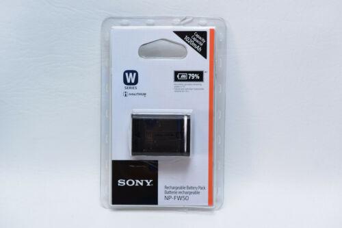 Paquete de batería recargable genuina Sony NP-FW50 W Series 1020mAh RB1