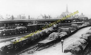 ossett railway station photo flushdyke to earlsheaton and. Black Bedroom Furniture Sets. Home Design Ideas