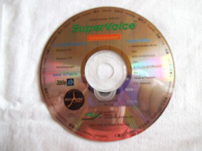 Geschickt Cd-rom: Award-winning Software. Super Voice Inernational Ver. 1.0