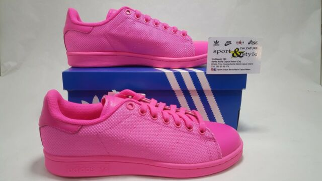 adidas stans smith donna 40 2%2F3  Donna adidas Originals Stan Smith W Sneakers Rosa 40 2/3 | eBay