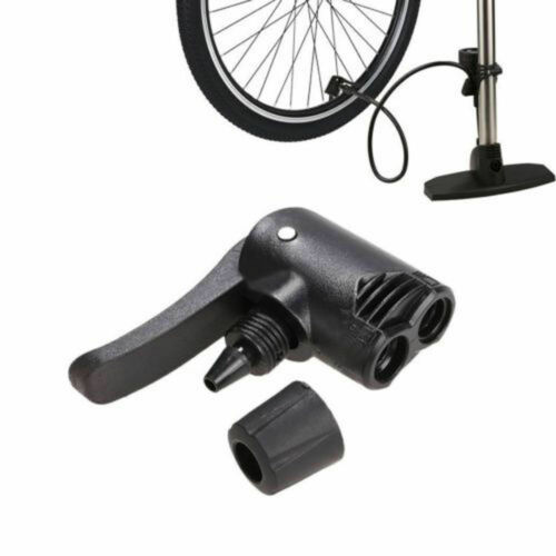 Replacement Bicycle Pump Nozzle Hose Adapter Double head AIR PUMP TYRE ADAPTOR