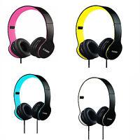 Coby Folding Stereo Over Ear Headband Headphones Headset Clear Sound Cvh-801