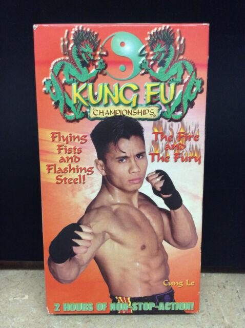 Kung Fu Championships (vhs 1997) Jason Yee VS Cung Le - UFC Pride MMA K-1
