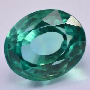 0.52Ct AIG Certified Oval cut 6 x 5mm Blue Green to Red
