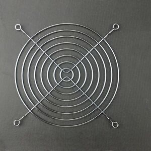 14cm-Grill-Protective-Finger-Guard-Steel-Mesh-Cable-Ties-For-140mm-PC-Case-Fan