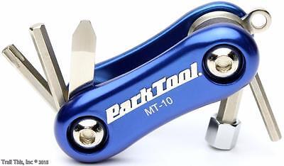 Park Tool MT-10 Mini Folding Mutli-Tool Bike Road MTB Allen Key Torx Keychain