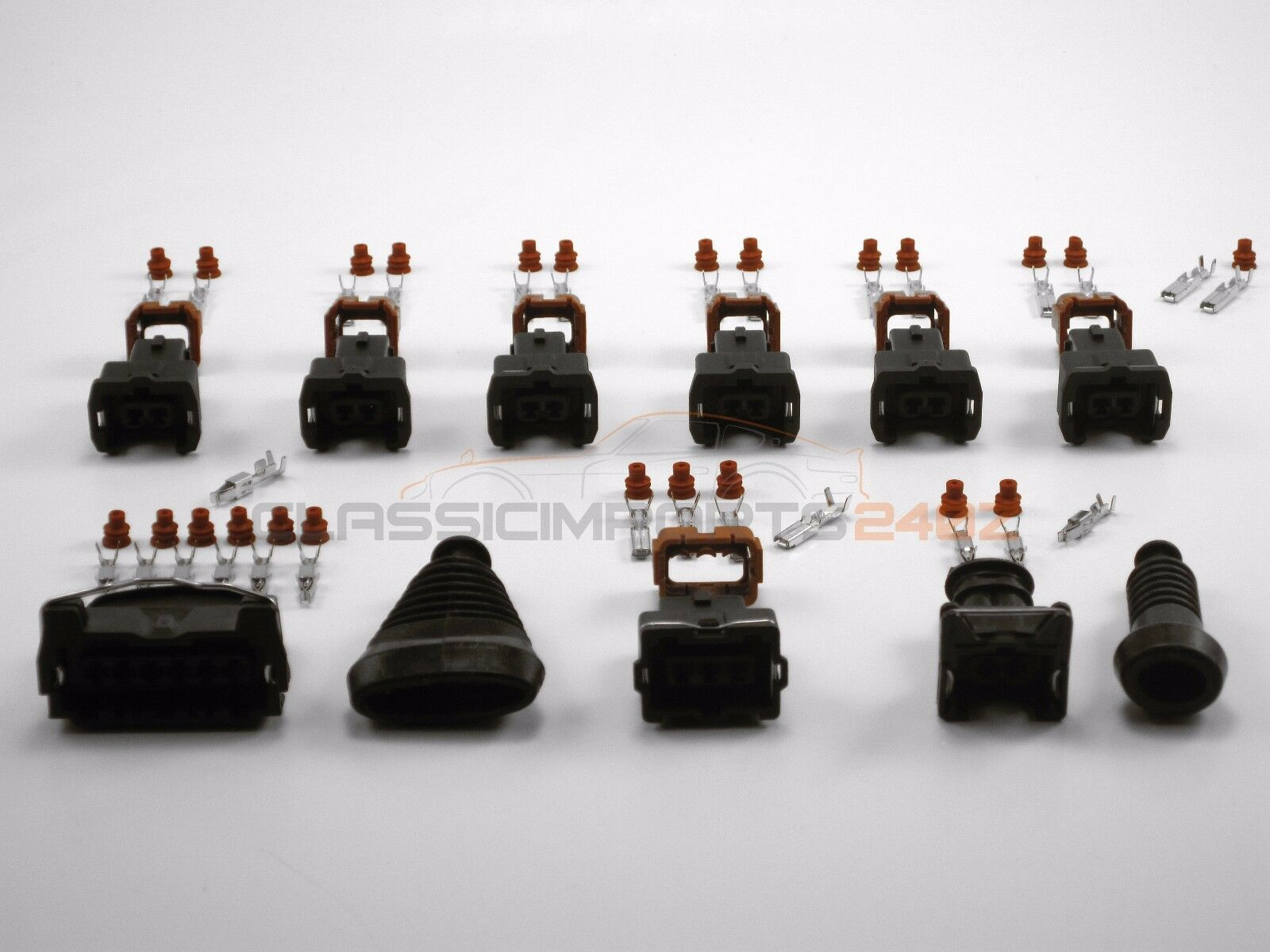 Fuel Injector Maf Tps Terminal Connector Repair Kit For