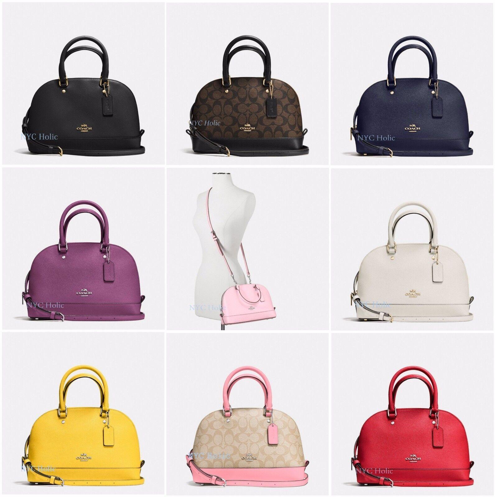 2035290f0 ... signature mini kelsey satchel crossbody bag khaki brown shoes 62288  d3c71; uk new coach f27583 f27591 f37232 mini sierra satchel dome ebay  1c083 27897