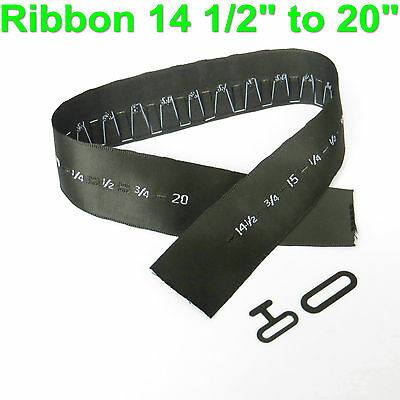 Qty 20 Sets Sizing Ribbon Bow Tie Hardware Sets T-hook and Eye