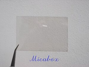 "2""x3"" (50 Mm X75mm) Mica Sheet For French Poêle/woodburner Windows De Qualité Supérieure!-er Windows Top Quality! Fr-fr Afficher Le Titre D'origine Suppression De L'Obstruction"