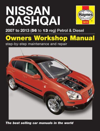 Haynes NISSAN QASHQAI PET & DIES (07-13) Workshop Manual