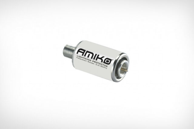 Amiko Lightning Protector - Satellite Surge Protection 5-2150MHz - Waterproof