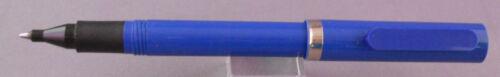 Plastic Clip Ball Pen-blue  barrel and cap Sheaffer No-Nonsense-bllue