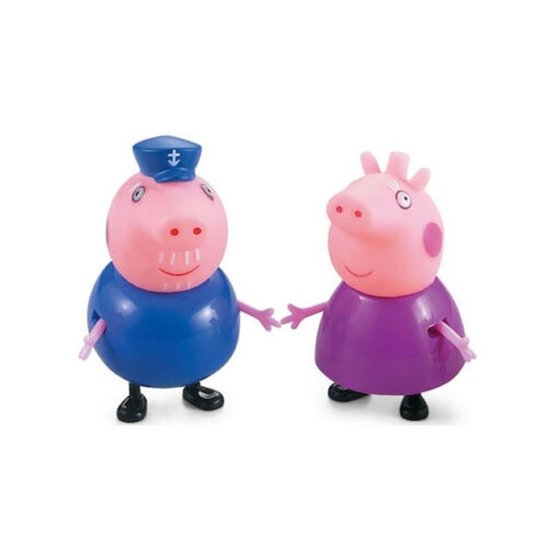 IT Lovely Toys 25 Pcs Peppa Pig Family/&Friends Emily Rebecca Suzy Action Figures