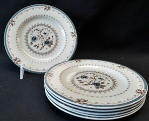 Royal Doulton Old Colony TC1005 Set of 6 Bread & Butter Plates