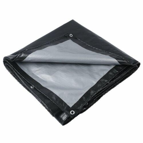Heavy Duty Tarpaulin Waterproof Strong Cover Ground Sheet Tarp Canvas Full Size