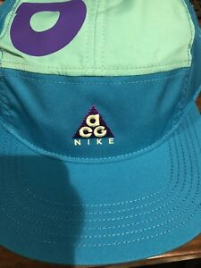 5811c0020ea Nike ACG AW84 2018 Collection Purple Green Cap QS In Hand AM98 SW ...