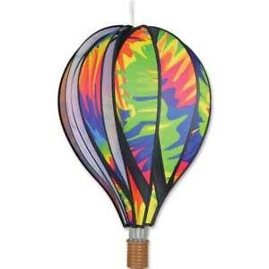 """Premier Kites Hot Air Balloon TIE DYE Wind Spinner (25776 - 22"""" size)"""