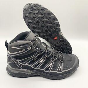 Salomon-X-Ultra-Mid-GTX-Waterproof-Goretex-Men-s-Size-10-Preowned-Excellent