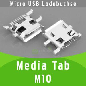 Media-Tab-M10-Micro-USB-DC-Ladebuchse-Netzbuchse-Anschluss-Strombuchse
