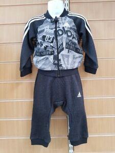 caliente lanzadera despierta  ADIDAS BASKETBALL FULL ZIP TRACKSUIT BABY INFANTS DJ1560 | eBay