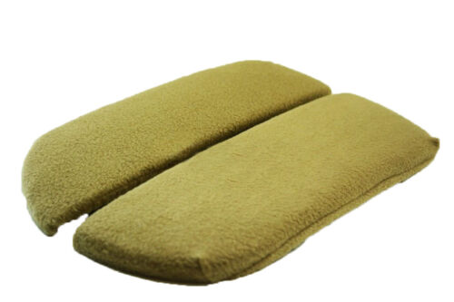 Fits 07-13 Acura MDX Tan Fabric Center Console Lid Armrest Cover Protectors