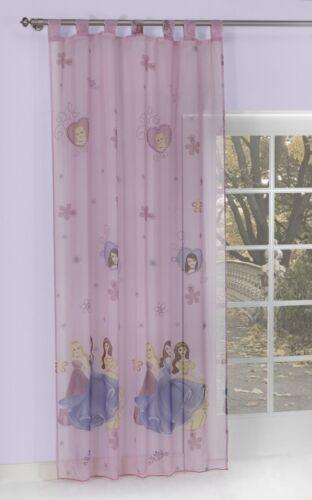 Schlaufenschal Fertigvorhang Fertigschal  Prinzessin rosa 140x245cm