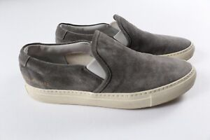 Common Projects Slip On Suede Leather