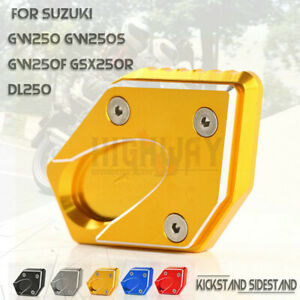 Seitenstaenderplatte-Seitenstaenderfuss-Fuer-Suzuki-GW250-S-GW250F-GSX250R-DL250
