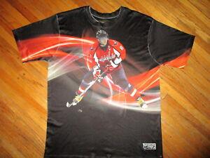 Alexander Ovechkin Washington Capitals T-shirt Sublimé Complet Imprimé Xl