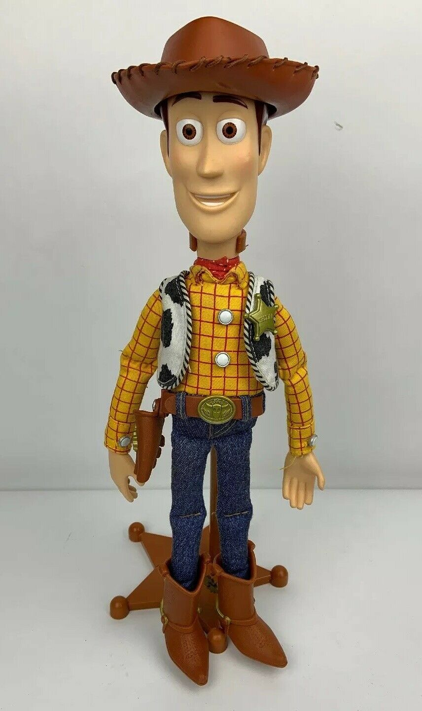 Toy Story Woody the Sheriff The Signature Collection Thinkway Toys + STAND