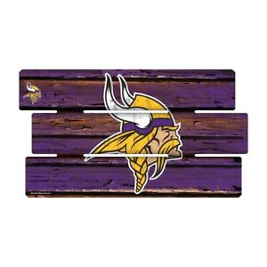 Minnesota-Vikings-Defense-Wooden-Sign-XL-63-cm-NFL-Football-Fence-Sign