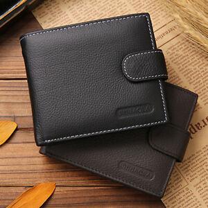 Classic-Men-PU-Leather-Bifold-Wallet-Card-Money-Holder-Purse-Short-Clutch-gib