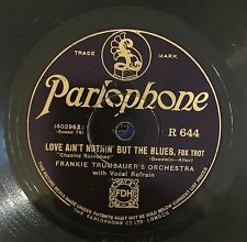 "RARE 78RPM 10"" PARLOPHON FRANKIE TRUMBAUER'S ORCHESTRA / EDDIE LANG'S ORCHESTRA"