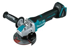 """Makita XAG26Z 18V Brushless 4-1//2""""-5"""" Paddle Switch X Lock Angle Grinder NEW"""
