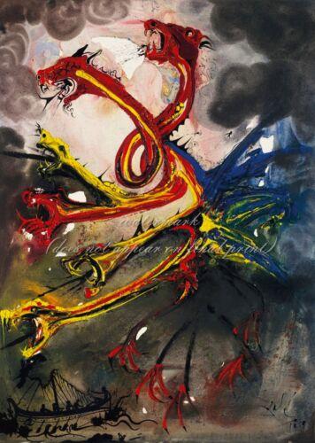 "SALVADOR DALI Surrealism Art Poster or Canvas Print /""Hydres/"""