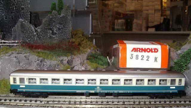 Arnold 3822 ic-vagón DB Ep 4. 2.kl.abteilwagen comportimiento NUEVO Y EMB. orig.