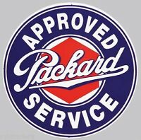 Approved Packard Sign Refrigerator / Tool Box Magnet