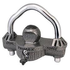 1 Trimax UMAX50 Universal Die Cast Unattended Trailer Lock Dual Purpose Coupler