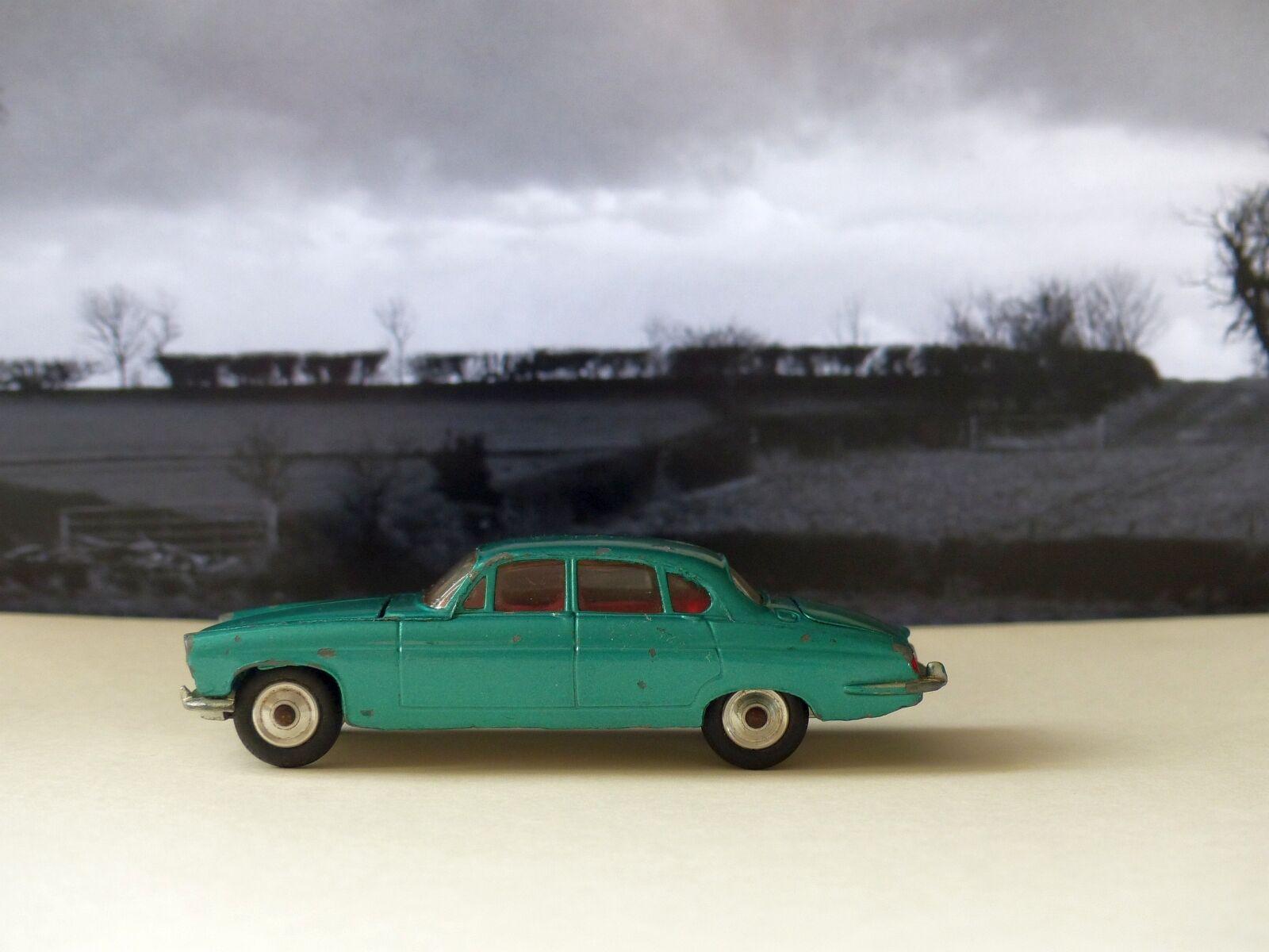 Corgi leksaker 238 Jaguar Mk X metallgrön