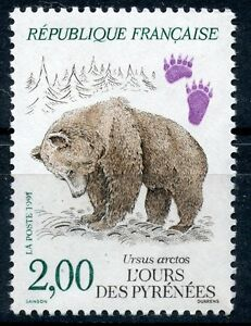 STAMP-TIMBRE-FRANCE-NEUF-N-2721-FAUNE-OURS-DES-PYRENEES