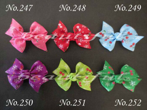 "300 BLESSING Good Girl Custom Boutique 2.5/"" Wing Hair Bow Clip 420 No."