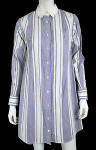 SACAI-Blue-amp-White-Striped-Cotton-Grosgrain-Detail-Button-Front-Shirt-Dress-2-M