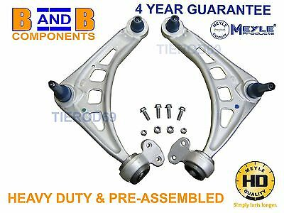 FOR BMW E46 HEAVY DUTY CONTROL ARMS FRONT LOWER WISHBONES PAIR MEYLE HD