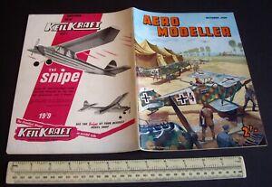 Vintage Aeromodeller Mag (Oct 1960). Engine Analysis Cobra 049 + WW1 Hannover.
