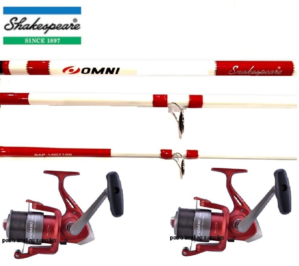 FT REELS RODS FISHING SEA OMNI NEW X 2 3 13 RODS PIECE