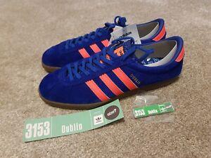bastante agradable nuevo alto zapatos clasicos Adidas Originals Dublin Trainers UK size 9 brand new boxed tagged ...
